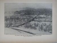 1903 Naturale Storia Stampa Earthquakes Schemacha Città Shamakhi