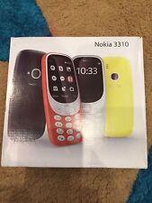 NOKIA 3310 2017 Versione DualSim  Asiatica* in Inglese Rosso Giallo Nero Grigio