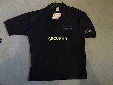 Security (Door Supervisor) Polo Shirt (XL) Uniform - Costume - Prop