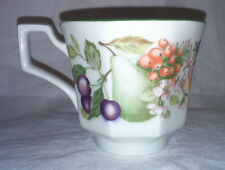 "Johnson Brothers ""Fresh Fruits"" 3.5"" Diameter x 3"" Tall Tea Cup - FREE P+P"