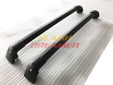 US Black for Hyundai Santa Fe sport 2013-2017 Luggage roof rack rail cross bar