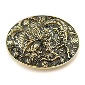 Capricorn belt buckle, Capricorn Sea Goat Horoscope Astrological Zodiac Sign