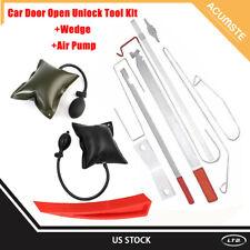 Car Auto Door Key Lost Lock Out Emergency Open Unlock Tool Kit + Air Pump+Wedge