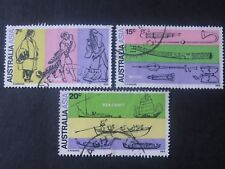 Australia - Asia Conference1971 - Set of 3 - Good Used Condition