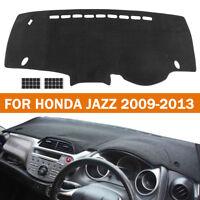 Car Dashmat Dashboard Sun Protector Cover Dash Mat Pad For Honda Jazz 2009-2013