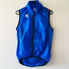 Sportful Hot Pack 5 Windproof Cycling Vest - Electric Blue - MEDIUM