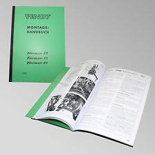 Fendt Montagehandbuch Farmer 2S / 3S / 4S Traktor Schlepper 2000