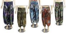 Aladdin Trousers Boho Hippie Baggy Indian Pants for Ladies Wholesale Lot 25Pcs