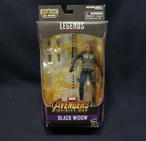 Marvel Legends Infinity War Black Widow 6in No Cull Obsidian BAF