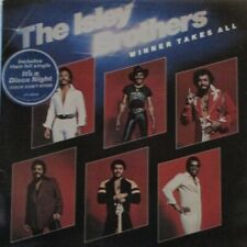 ISLEY BROTHERS - Winner Takes All ~ 2 x VINYL LP GATEFOLD PROMO