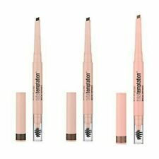 MAYBELLINE Total Temptation Brow Definer Crayon & Brush - CHOOSE - NEW Sealed