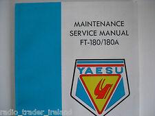 Yaesu ft-180 / 180 (Genuino Manual de servicio solamente)............ radio_trader_ireland.