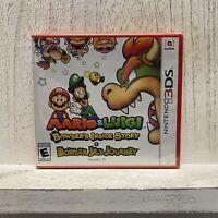 Mario & Luigi: Bowser's Inside Story + Bowser Jr.'s Journey (3DS, 2019) Sealed