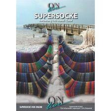 SUPERSOCKE 6-FACH ISLAND COLOR von ONline - Farbe 1768 - 150 g / ca. 375 m Wolle
