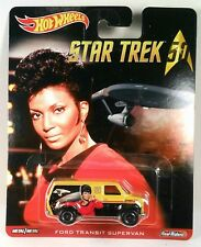 Hot Wheels 1:64 Pop Culture Star Trek 50th Uhura Ford Transit Supervan
