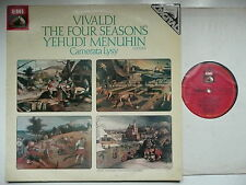 MENUHIN PLAYS VIVALDI THE FOUR SEASONS CAMERATA LYSY EMI ASD 3964