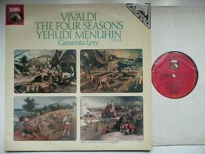 MENUHIN PLAYS VIVALDI THE FOUR SEASONS CAMERATA LYSY EMI ASD 3964