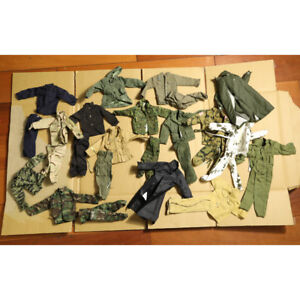 15pcs 21st Century US Germany WWII Uniform 1/6 for 12'' Ultimate Soldier Random