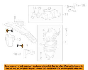 GM OEM Air Cleaner Intake-Rear Duct Rivet 25099299