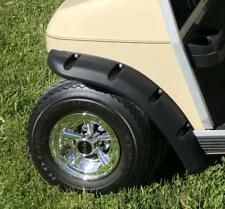 Club Car DS Golf Cart Fender Flares Front and Rear W/ Stainless Steel Hardware