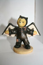 "Cherished Teddies Halloween Bear ""Barry"" ""I'm Batty Over You"" Bat Costume"