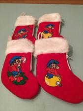 Vintage American Tale Fieval Mousekewirt 7 Inch Christmas Stockings