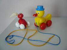 Spielzeug Kleinkindspielzeug Nachziehtiere Nachziehspielzeug Ente Hase Kindertag