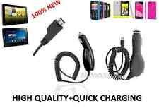 New 100% Car Charger Micro USB High Quality(1000mA) For Samsung S4,S4 Mini,S3