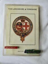 BLUEBELL & S.R. KING ARTHUR 4 6 0 badges on Lancs & Yorks coat-of-arms card.