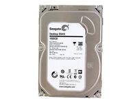"""Seagate Desktop SSHD ST1000DX001 1TB 8GB SSD Cache 1TB SATA III 3.5"""" - 64MB"""