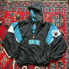 """New listing San Jose Sharks Starter """"Chomp"""" pullover, size L, excellent condition"""