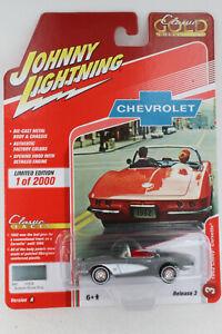 A.S.S NEU Chevrolet Chevy Corvette 1962 Johnny Lightning 1/64 Classic Gold 2020