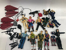 Vintage GI Joe Figures Lot Accessories Parts