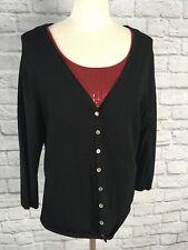 Nomadic Traders Black Cardigan Size L