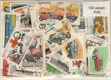 100 verschiedene Briefmarken  Autos , Automobil , Car , Coche