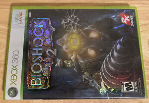 BioShock 2 (Microsoft Xbox 360, 2010) Complete, Tested and Working