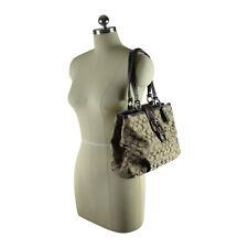 $348 COACH Soho Signature EW Tote Shoulder Bag Purse Handbag Sac Khaki New 18750