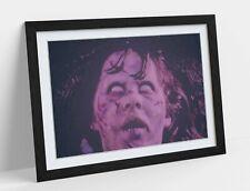 REGAN MAC NEIL EXORCIST -ART FRAMED POSTER PICTURE PRINT ARTWORK- VIOLET