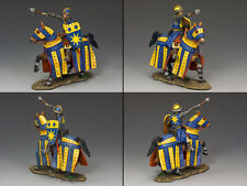KING AND COUNTRY Mounted Crusader - Francesco di Sienna  MK105