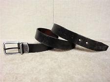 RELIC -Men's Reversible Leather Belt -Casual Black & Dress Brown Colors -Size 34