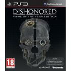 Dishonored Game Of The Year (GOTY) Game PS3 Sony PlayStation 3 PS3 Brand New
