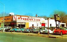 Old Photo. Hempstead, NY.  Moro Motors, Ltd., English Ford - Auto Dealership