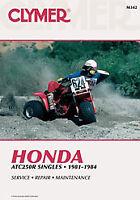 Clymer Honda ATC250R (1981-1984)Service Repair Shop Manual M342 ATV 70-0342 M342