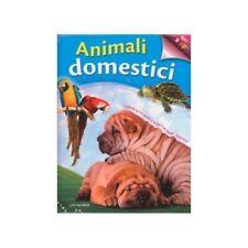 LIBRO ANIMALI DOMESTICI. APRI E SCOPRI