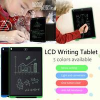 "8.5""/12'' Writing Tablet LCD Drawing Board Pad Digital Notepad Kids EWriter NEW"