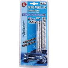 Fog Lamp x 2 Blue DRL 6 LED Daytime Running Light Auto Car Indicator Side New