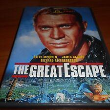 The Great Escape (DVD, Widescreen 2009) Steve McQueen, James Garner Used 1963