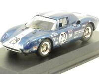 Best Models Diecast 9122 Ferrari 250 LM Sebring 1965 Blue 1 43 Scale Boxed
