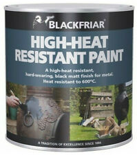 Blackfriar Hoch Hitzebeständig Farbe 600 Grad Strapazierfähig Schwarz Matt 500ml