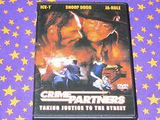 CRIME PARTNERS-FSK 18-DVD-Ja Rule-SNOOP DOGG-Ice-T-Action Thriller-HipHop-Film